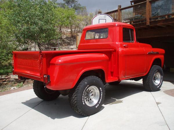 1959 Chevy Apache 4x4 Napco ¾ Ton Photo Gallery - Restoration by