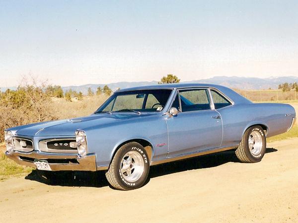 1966 Pontiac GTO Photo Gallery - Restoration by Pete Dahl