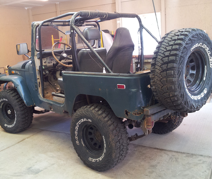 1971 FJ40 Toyota Land Cruiser Photo Gallery - Restoration by Pete Dahl