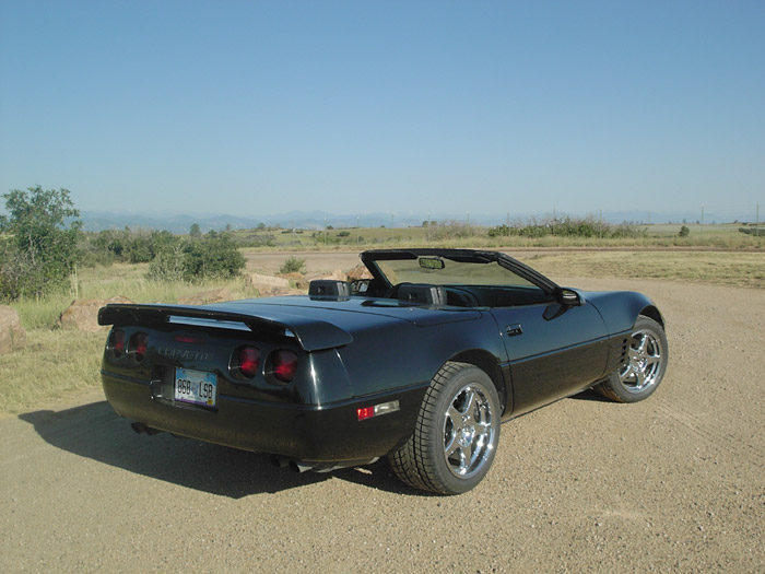 Corvette Restoration Autos Weblog